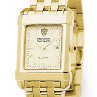 Princeton Men's Gold Quad Watch with Bracelet