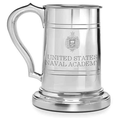 Naval Academy Pewter Stein