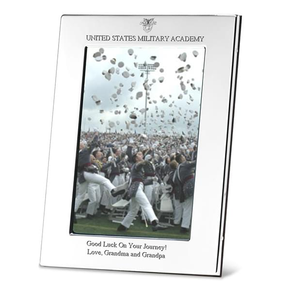 West Point Polished Pewter 4x6 Picture Frame