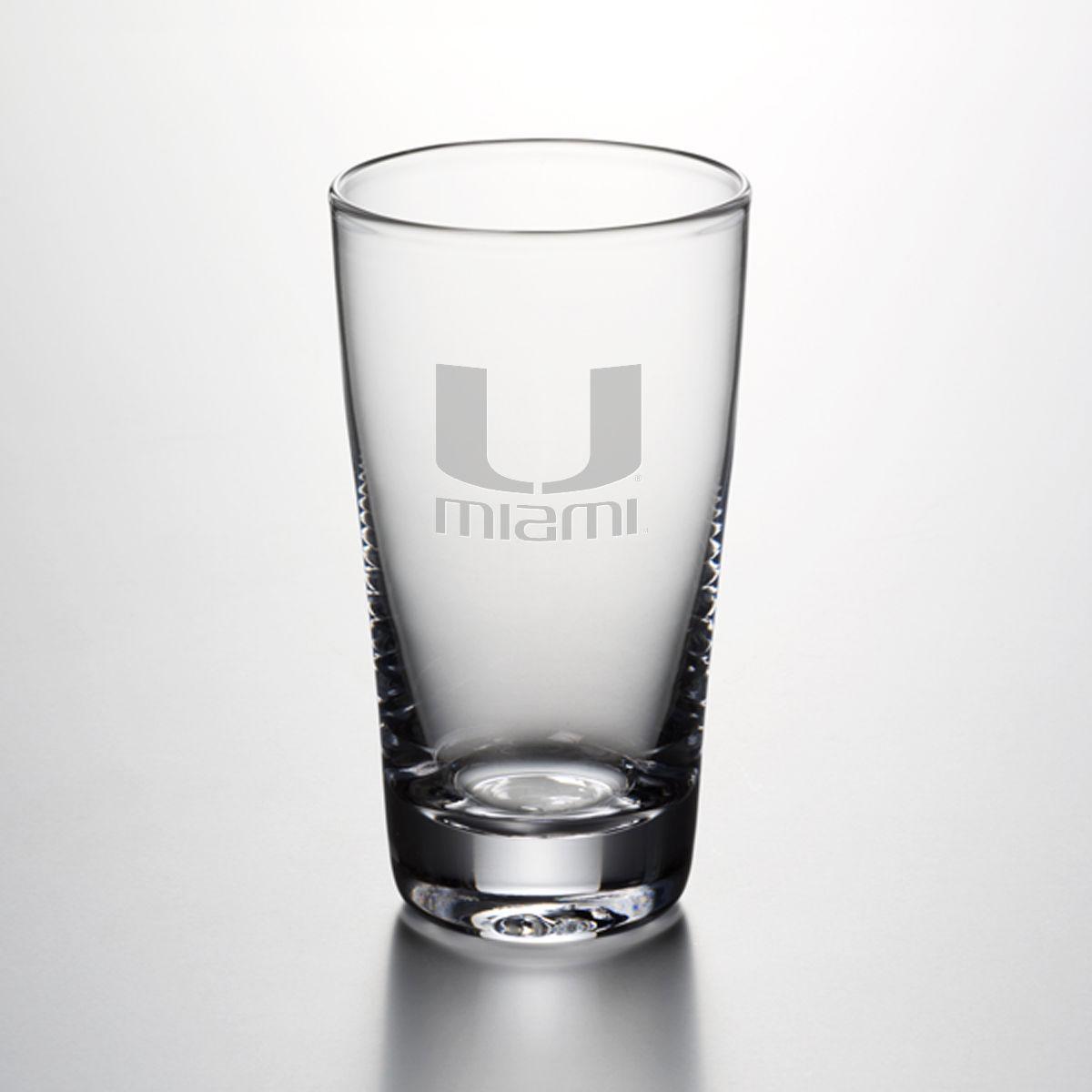 Miami Ascutney Pint Glass by Simon Pearce