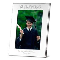 Maryland Polished Pewter 4x6 Picture Frame