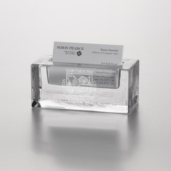 Dartmouth Glass Business Cardholder by Simon Pearce