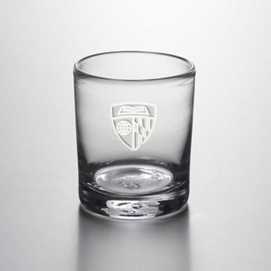 Johns Hopkins Double Old Fashioned Glass by Simon Pearce