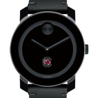 South Carolina Men's Movado BOLD with Leather Strap