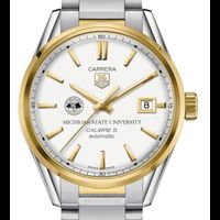 Michigan State Men's TAG Heuer Two-Tone Carrera with Bracelet