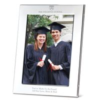 Wharton Polished Pewter 5x7 Picture Frame