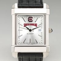 South Carolina Men's Collegiate Watch with Leather Strap