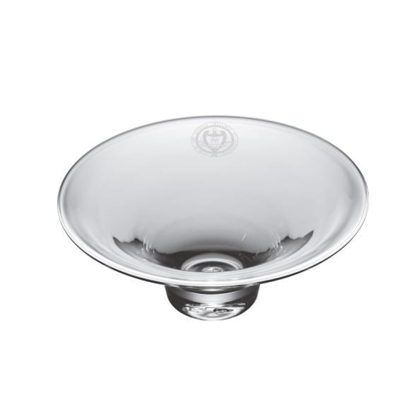 Georgia Tech Glass Hanover Bowl by Simon Pearce
