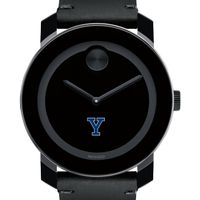 Yale Men's Movado BOLD with Leather Strap