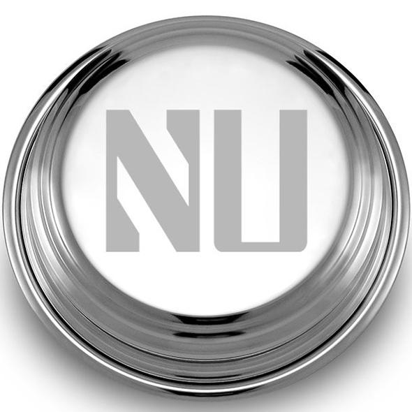Northwestern Pewter Paperweight Image-2