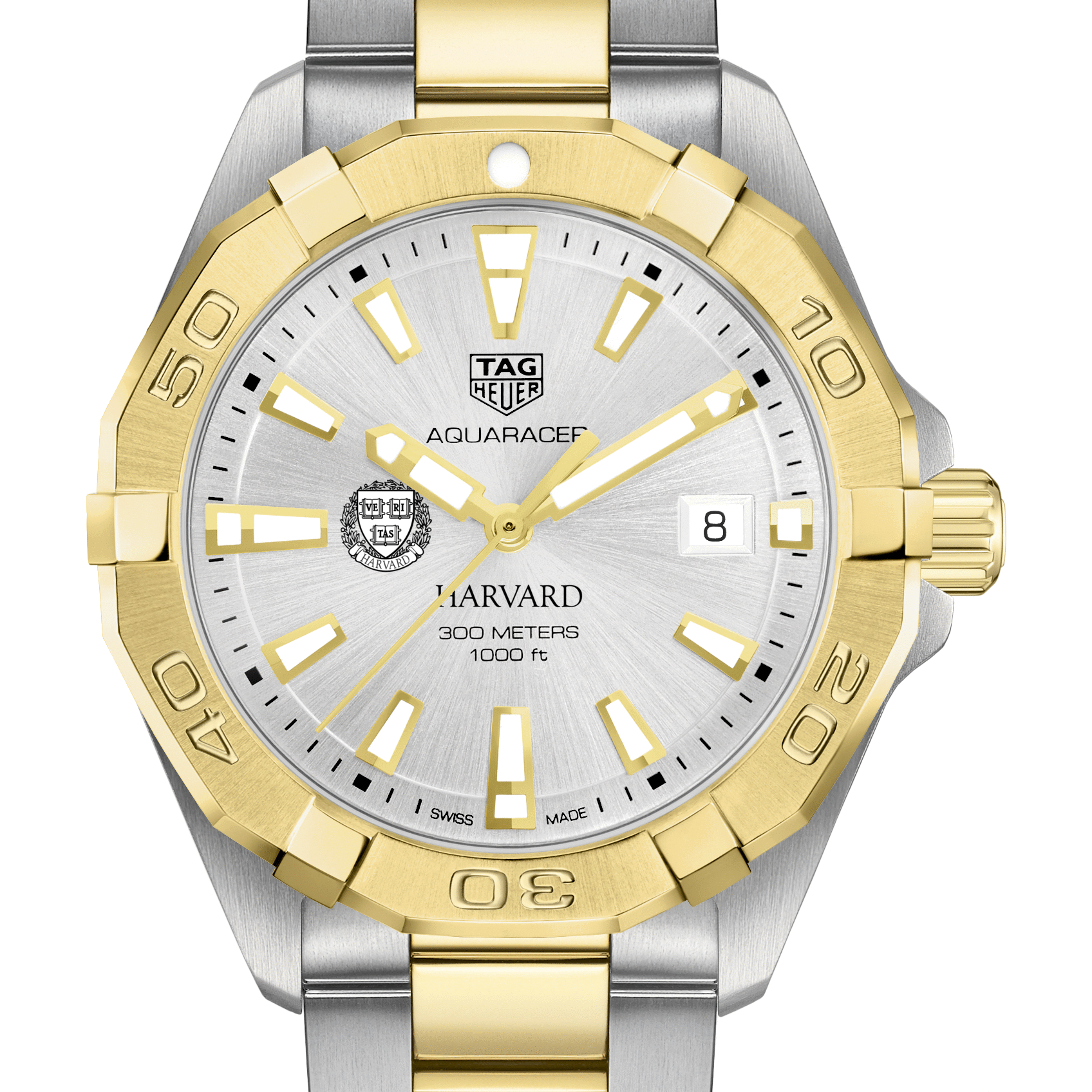 Harvard Men's TAG Heuer Two-Tone Aquaracer