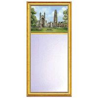 Yale Eglomise Mirror with Gold Frame