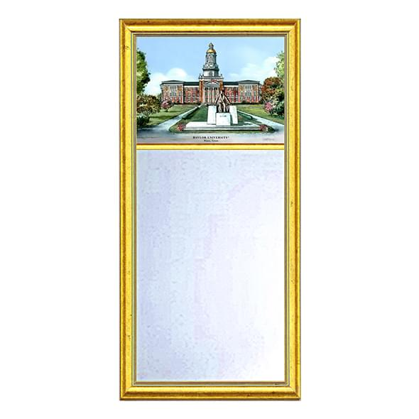 Baylor Eglomise Mirror with Gold Frame
