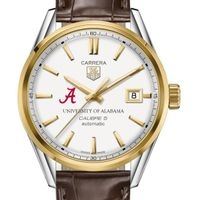 Alabama Men's TAG Heuer Two-Tone Carrera with Strap