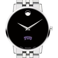 TCU Men's Movado Museum with Bracelet