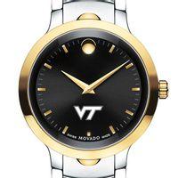 Virginia Tech Men's Movado Luno Sport Two-Tone