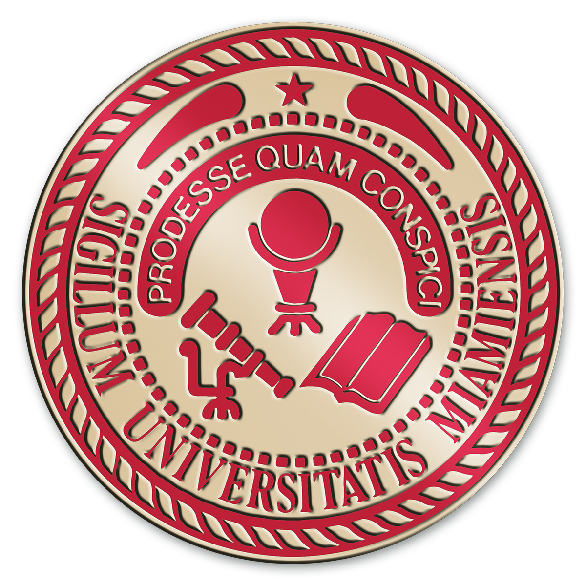 Miami University In Ohio Diploma Frame Excelsior