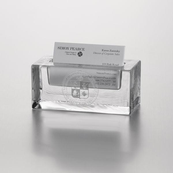 VT Glass Business Cardholder by Simon Pearce