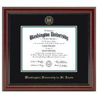 WUSTL Fidelitas Diploma Frame