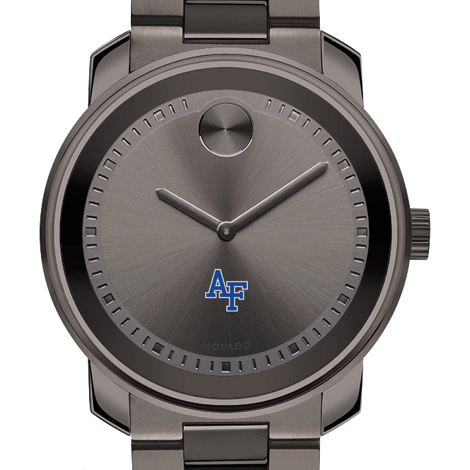 Air Force Academy Men's Movado BOLD Gunmetal Grey