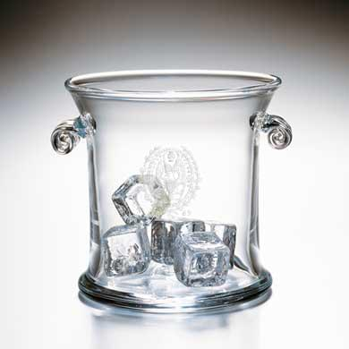 Georgetown Glass Ice Bucket by Simon Pearce
