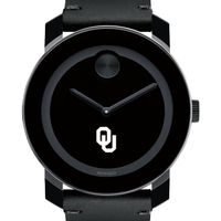 Oklahoma Men's Movado BOLD with Leather Strap