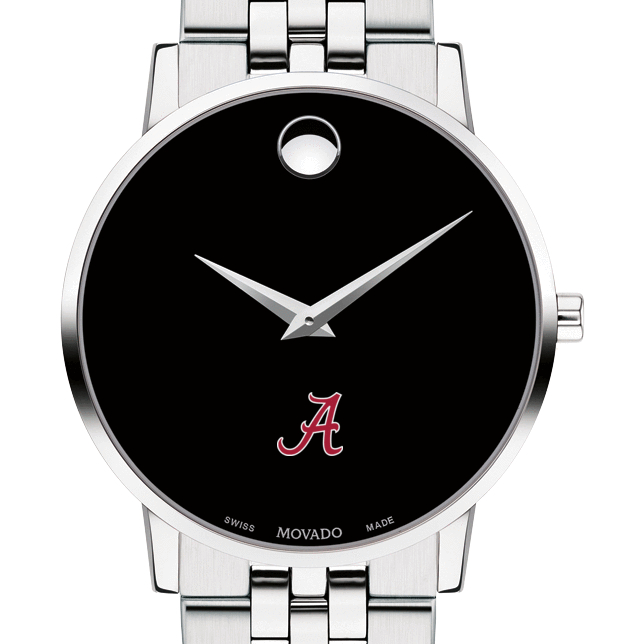Alabama Men's Movado Museum with Bracelet