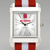 NC State Men's Collegiate Watch w/ NATO Strap