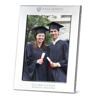 Johns Hopkins Polished Pewter 5x7 Picture Frame