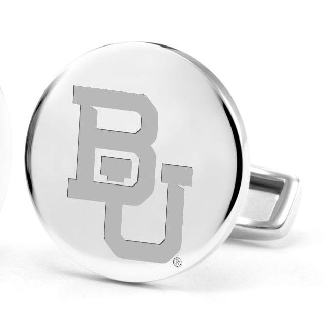 Baylor Sterling Silver Cufflinks