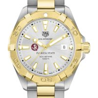 Florida State Men's TAG Heuer Two-Tone Aquaracer