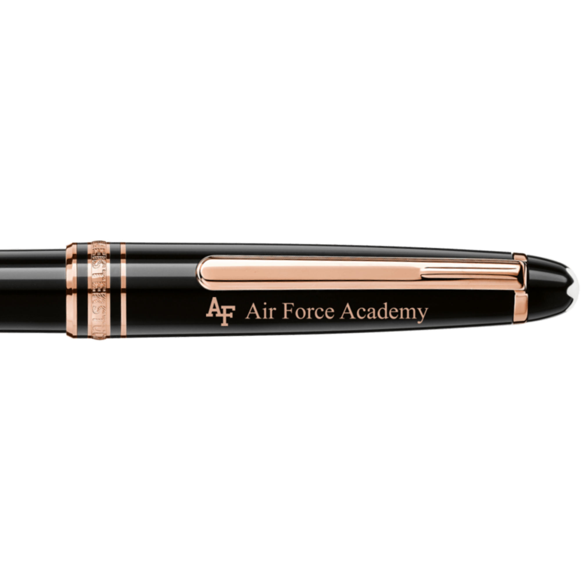 US Air Force Academy Montblanc Meisterstück Classique Ballpoint Pen in Red Gold
