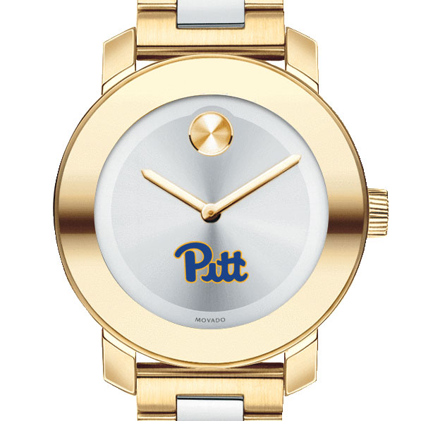 Pittsburgh Women's Movado Two-Tone Bold