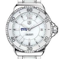 TCU Women's TAG Heuer Formula 1 Ceramic Diamond Watch
