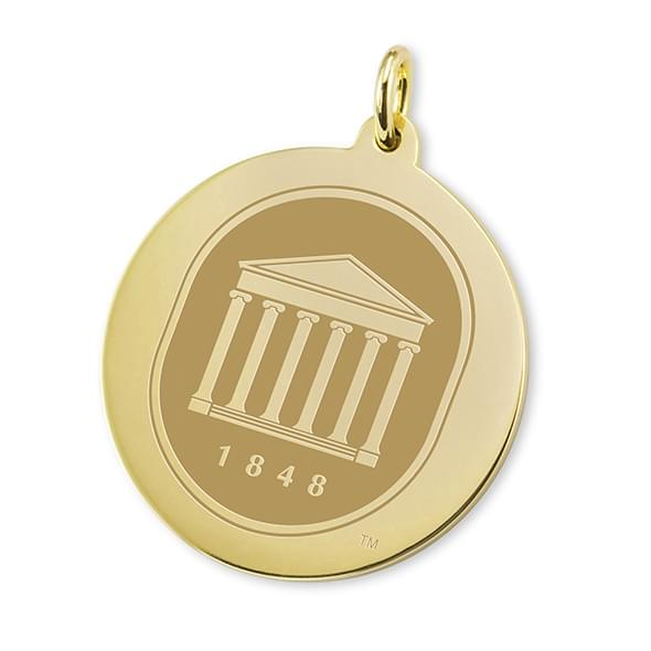 Ole Miss 14K Gold Charm Image-1