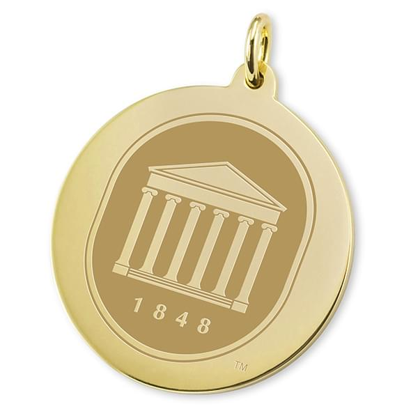 Ole Miss 14K Gold Charm Image-2