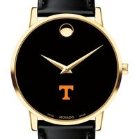Tennessee Men's Movado Gold Museum Classic Leather