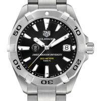 James Madison Men's TAG Heuer Steel Aquaracer w/ Black Dial