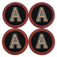 West Point Needlepoint Coasters