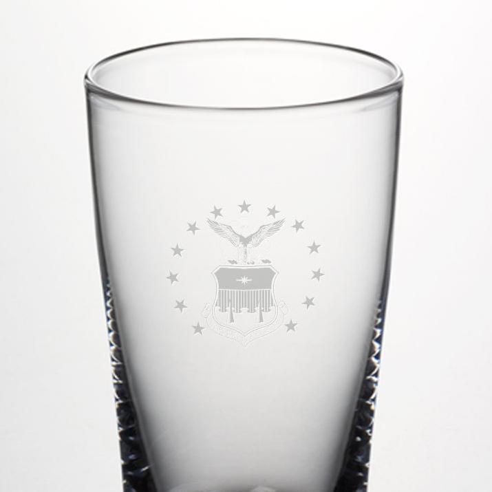 USAFA Pint Glass by Simon Pearce