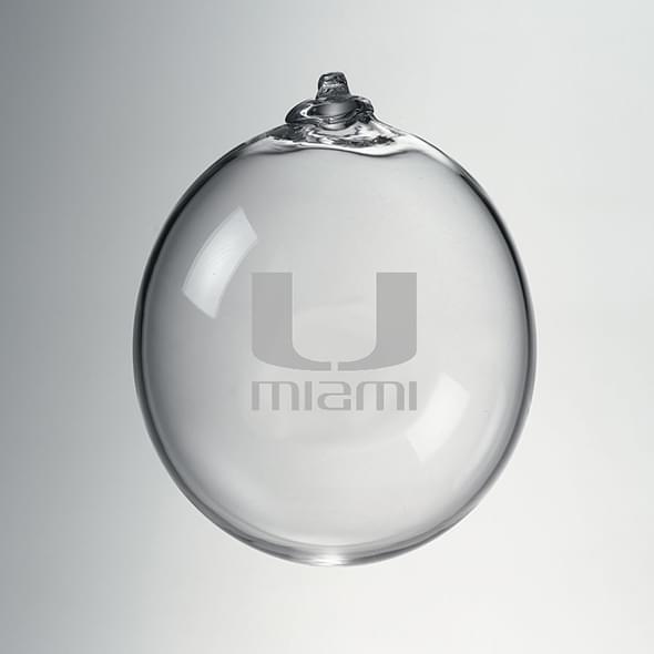 Miami Glass Ornament by Simon Pearce