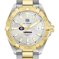 Georgia Men's TAG Heuer Two-Tone Aquaracer