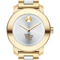 Wake Forest Women's Movado Two-Tone Bold