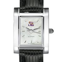 LSU Women's MOP Steel Quad with Leather Strap