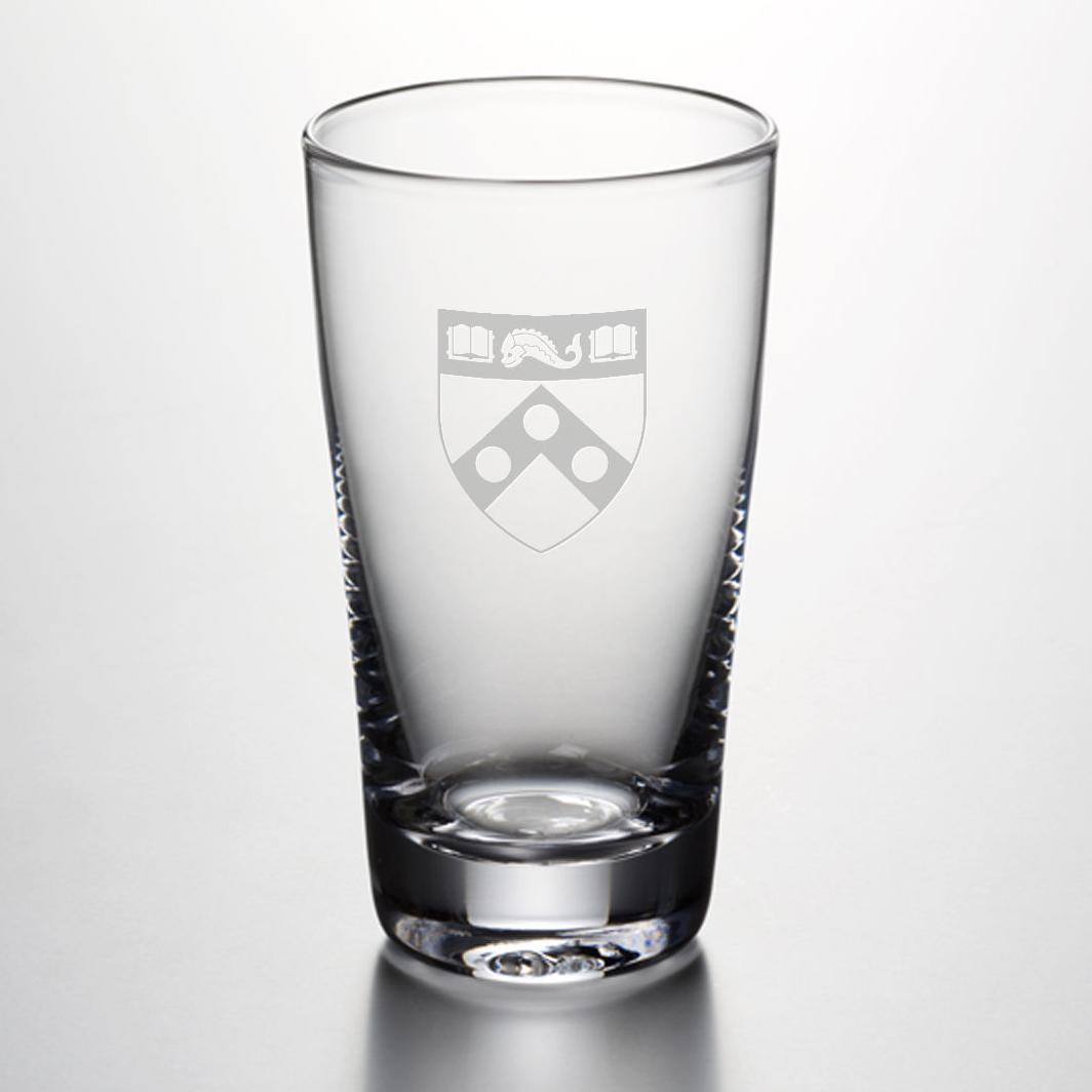 Penn Pint Glass by Simon Pearce