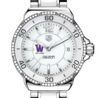 Williams Women's TAG Heuer Formula 1 Ceramic Diamond Watch