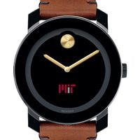 MIT Men's Movado BOLD with Brown Leather Strap