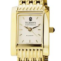 St. John's Women's Gold Quad with Bracelet