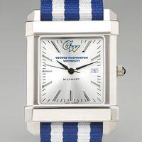 George Washington Men's Collegiate Watch w/ NATO Strap