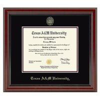 Texas A&M Fidelitas Diploma Frame